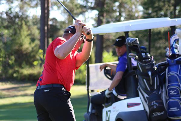 Golfista on tullut avoin harrastus