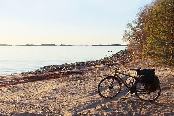 Cyklisten når långt