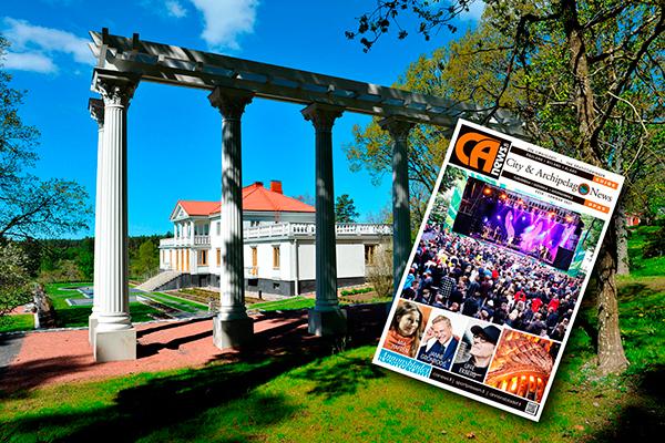 City & Archipelago News kesälehti 2021 on ilmestynyt